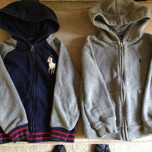 Polo Full Zipper Sweatshirts